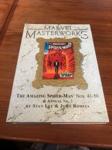 Marvel Masterworks 22 Amazing Spider-man 41-50 New in Shrink Wrap