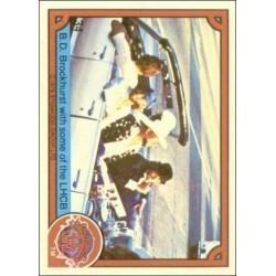 1978 Donruss Sgt. Pepper's B.D. BROCKHURST WITH SOME OF THE LHCB #34