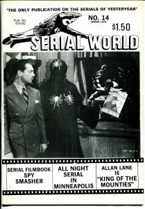 Serial World #14 1978-Allan Lane-Spy Smasher-King of The Mounties-FN