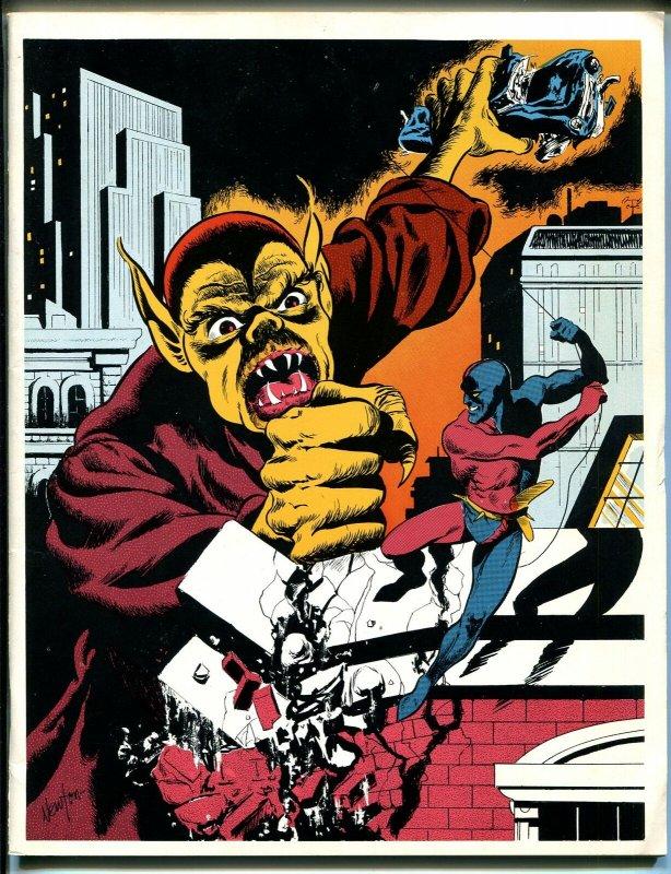 Rocket's Blast & Comic Collector #97 1973-original fanzine-Newton cover-FN/VF