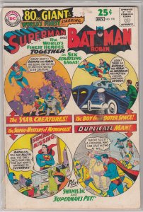 WORLD'S FINEST SUPERMAN AND BATMAN #170