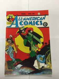 Special Edition Reprints Flashback Comics 30 All American 24 9.4 Nm Near Mint