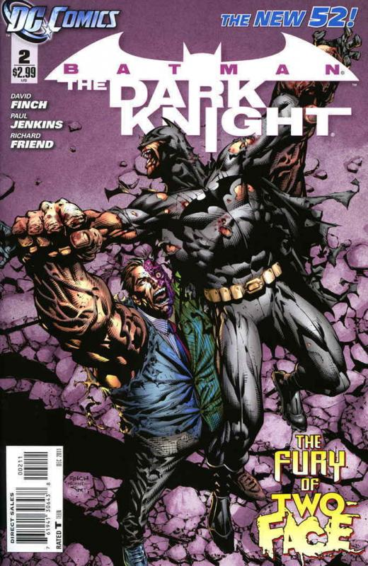 Batman: The Dark Knight (3rd Series) #2 VF/NM; DC | save on shipping - details i