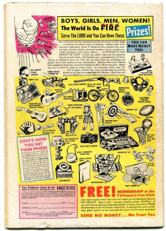 Panic Comics #3 1954- Marijuana- Golden Age EC- Feldstein-John Wayne G/VG