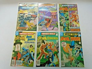 The Brave and the Bold From: #121-199 11 Different Books Avg 6.0 FN (1975-1983)