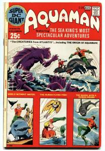 Super DC Giant #26 1971 Origin of Aquaman DC bronze age comic book