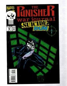 Punisher War Journal # 63 NM Marvel Comic Book 1st Print Suicide Run J460