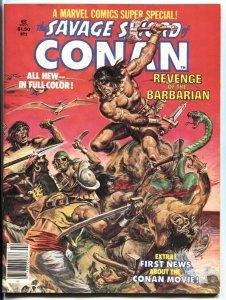 Marvel Comics Super Special #2 1977 Conan - Robert E. Howard