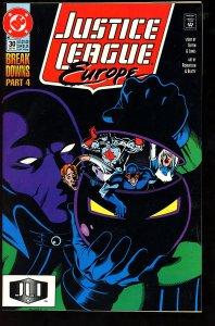 Justice League Europe #30 (1991)