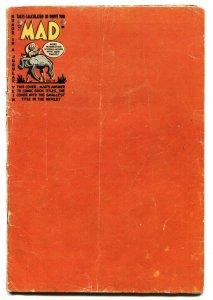 MAD #13 1954-EC-Wally Wood-Will Elder-Prince Valiant-Robinson Crusoe G