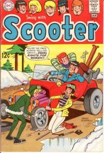 SCOOTER (SWING WITH) 16 VG-F Jan. 1969 COMICS BOOK