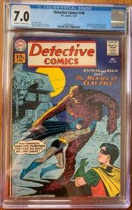 Detective Comics #298 (1961) CGC 7.0 -- 1st & origin Silver Age Clayface (Hagen)