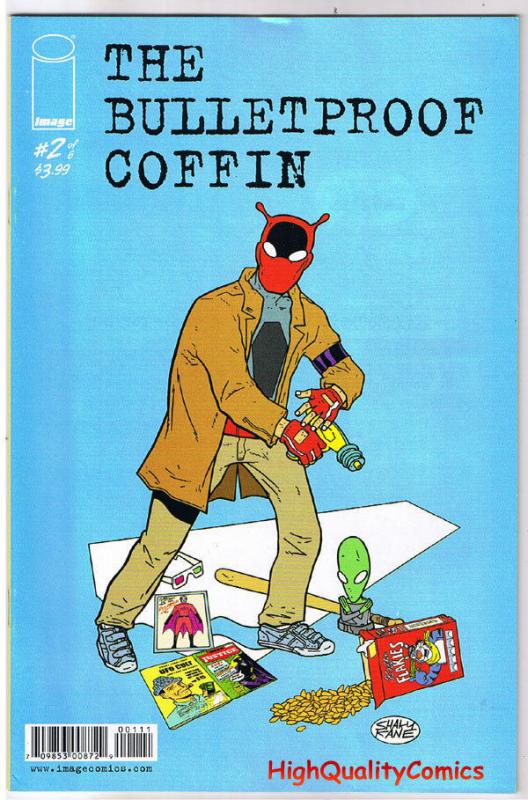 BULLETPROOF COFFIN #2, David Hines, Kane, 2010, VF, A Rat's Cage