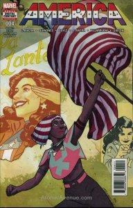 America (Marvel) #4 VF/NM; Marvel | save on shipping - details inside