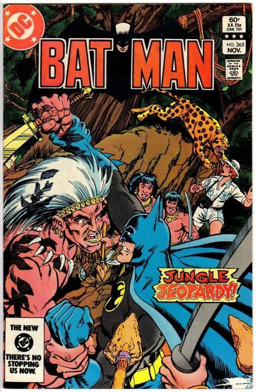 BATMAN 365 VG-F Nov. 1983
