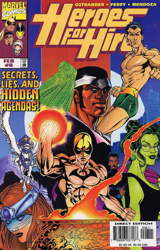 NM 2011 HEROES FOR HIRE #12