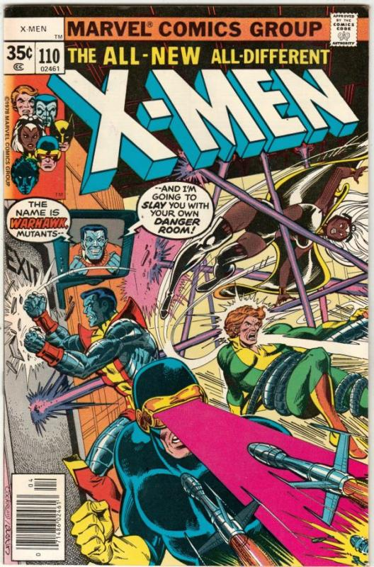 X-Men #110 (Apr-78) VF/NM+ High-Grade X-Men