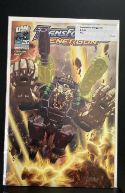Transformers: Energon (CA) #20 (2004)