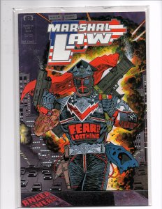 Epic Comics Marshal Law #1 1st app. Kevin O'Neill