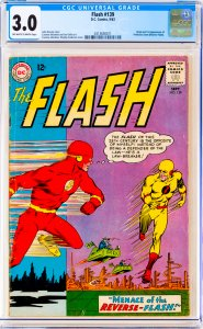 Flash #139 CGC Graded 3.0 Origin and 1st appearance of Professor Zoom (Revers...