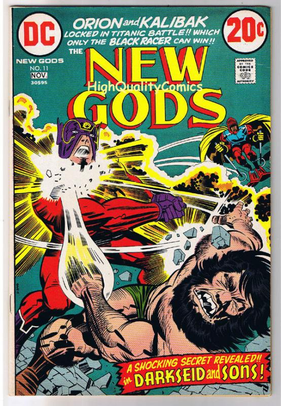 NEW GODS #11, VF, Jack Kirby, Darkseid and Sons,1971, more JK in store