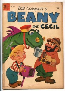 Bob Clampett's Beany and Cecil-Four Color Comics #570-Dell-based on TV series...