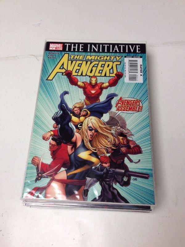 The Mighty Avengers 1-25 Near Mint Lot Set Run Bendis