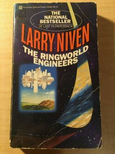 3 Books The Ringworld Engineers The Ultra Secret The Legacy of Heorot SciFi MFT2