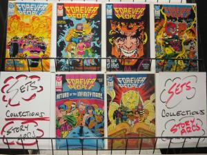 FOREVER PEOPLE 1-6 (1988)KIRBY REDONE AGAIN!!THE SET!