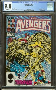 Avengers 257 CGC 9.8   1st Nebula   White Pages