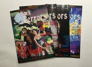 Dark Terrors 14-17 Lot Magazine Near Mint Nm St. Ives Publishing