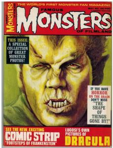 FAMOUS MONSTERS OF FILMLAND 49 F-VF May 1968