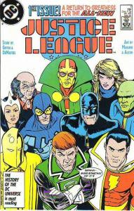 Justice League #1 (May-87) NM- High-Grade Justice League of America