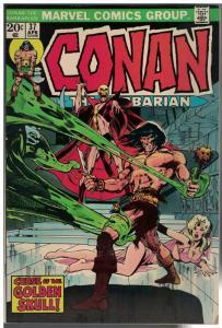CONAN THE BARBARIAN 37 VG+  April 1974 Neal Adams