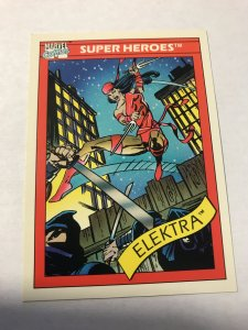 ELECTRA #49 : 1990 Marvel Universe Series 1 card, NM/M high grade, Daredevil