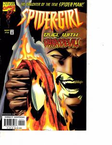 Lot Of 2 Marvel Comic Books Spider-Girl DarkDevil #12 and #13   ON3