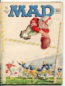 Mad-Magazine-#117-1968-Mort Drucker-Don Martin-David Berg-Peanuts