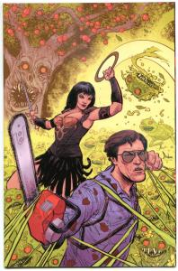ARMY OF DARKNESS XENA WARRIOR Princess #5 Variant, VF/NM, Forever, 2016, Horror