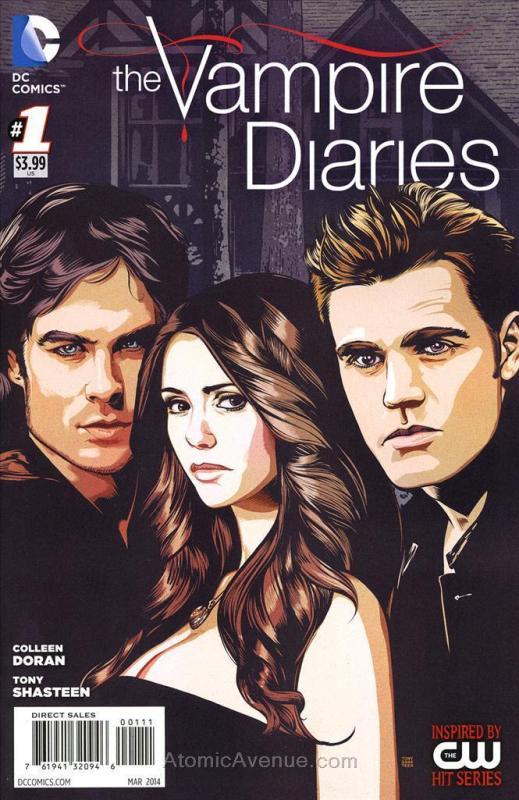 Vampire Diaries, The #1 VF/NM; DC | combined shipping available - details inside