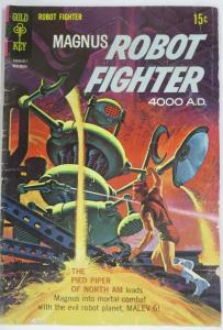 MAGNUS  ROBOT FIGHTER 24 (Gold Key,11/1968) GOOD (G) COMICS BOOK