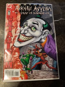 ​BATMAN ARKHAM ASYLUM TALES OF MADNESS #1 JOKER NM