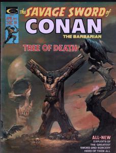 Savage Sword of Conan #5 - Early Conan Magazine - 6.0 or Better