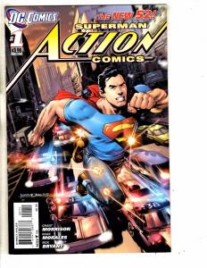 Action Comics # 1 VF/NM DC Comic Book Superman Flash Batman Wonder Woman J284