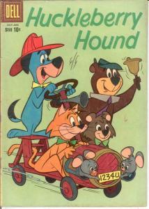 HUCKLEBERRY HOUND (1959-1970 DELL/GK) 6 VG- COMICS BOOK