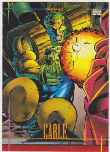 1993 Marvel Universe #35 Cable