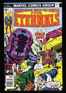 Eternals #7 NM 9.4 1st The One Above All!