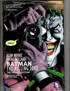 THE KILLING JOKE Batman Deluxe Ed DC Comics Graphic Novel HARDCOVER SEALED J311