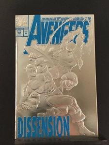 Avengers #363 Silver Foil CVR 1st Cameo App of DEATHCRY (Sharra Neramani)