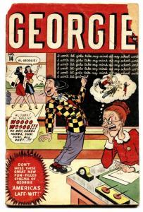 Georgie #14 1948- Millie the Model- Margie- Marvel Comics