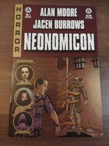 Alan Moore's Neonomicon #1 Auxliary Variant Avatar Press Jacen Burrows Lovecraft